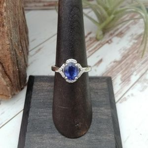 Jewelry - Sapphire & Topaz Sterling Ring